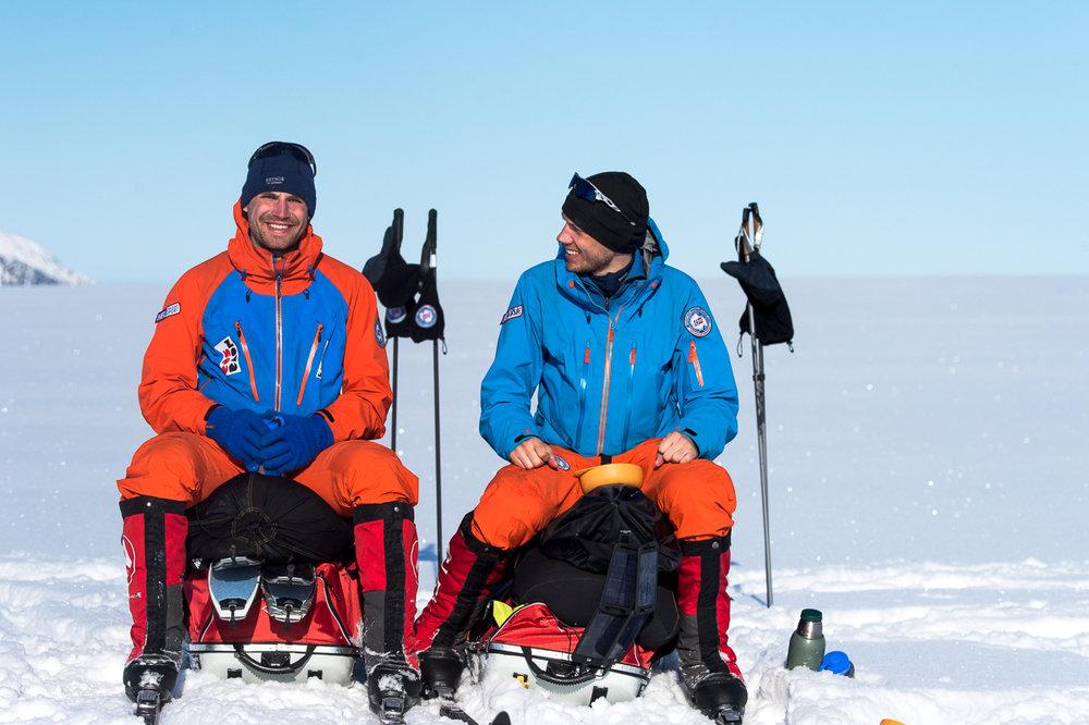 Norexplore vil gjerne motivere deg til å komme ut på både små og større turer i naturen. Her er de på Svalbard.  - ©Tor Berge - Norexplore