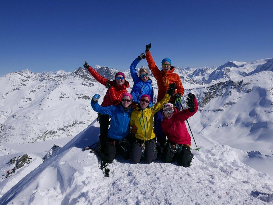 Fantastisk utsikt fra toppen av Rosablanche (3336 moh.) - ©Mattias Erlandson