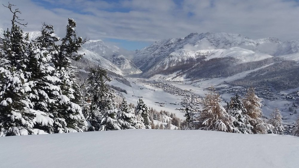 Livigno 7.11.2016 - ©Facebook Carosello 3000 Ski Area Livigno