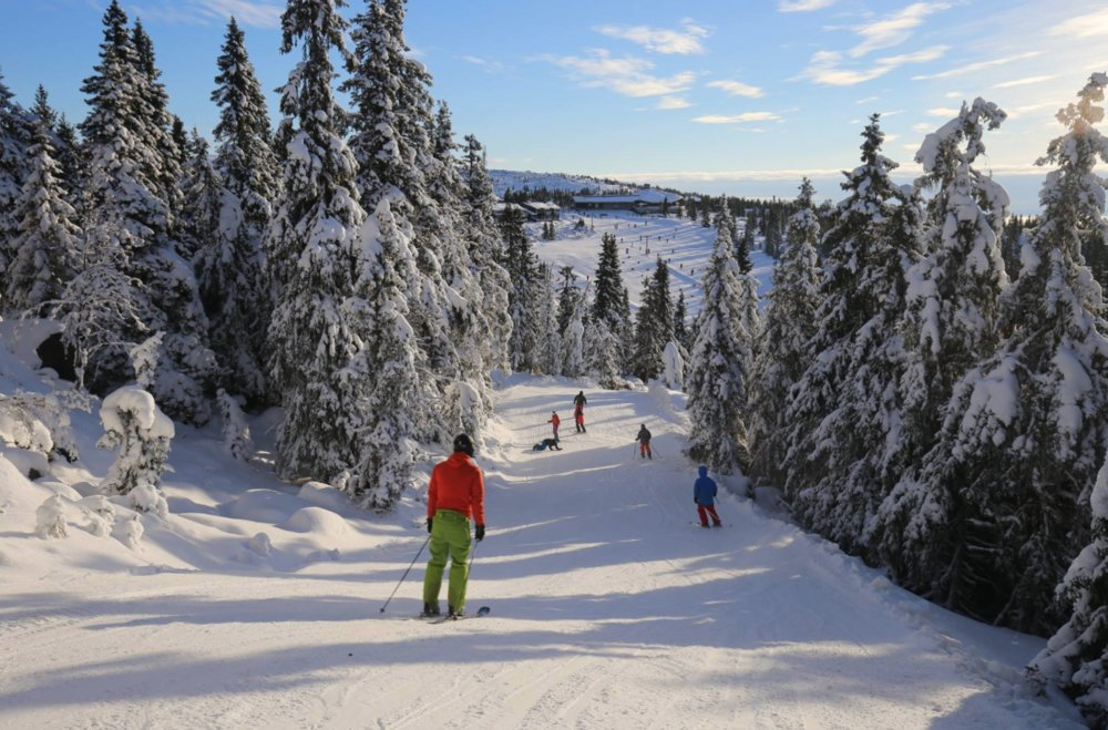 Det kunne ikke blitt en bedre start på sesongen i Hafjell i helgen. - © Hafjell Alpinsenter