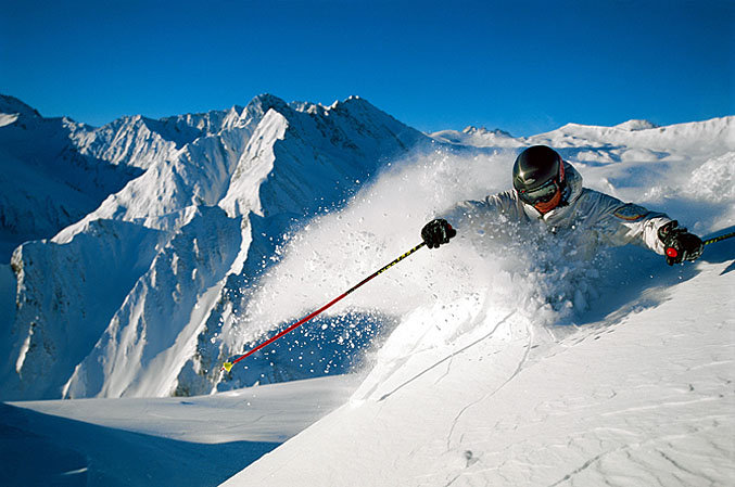 Samnaun-Skier - ©Graubűnden