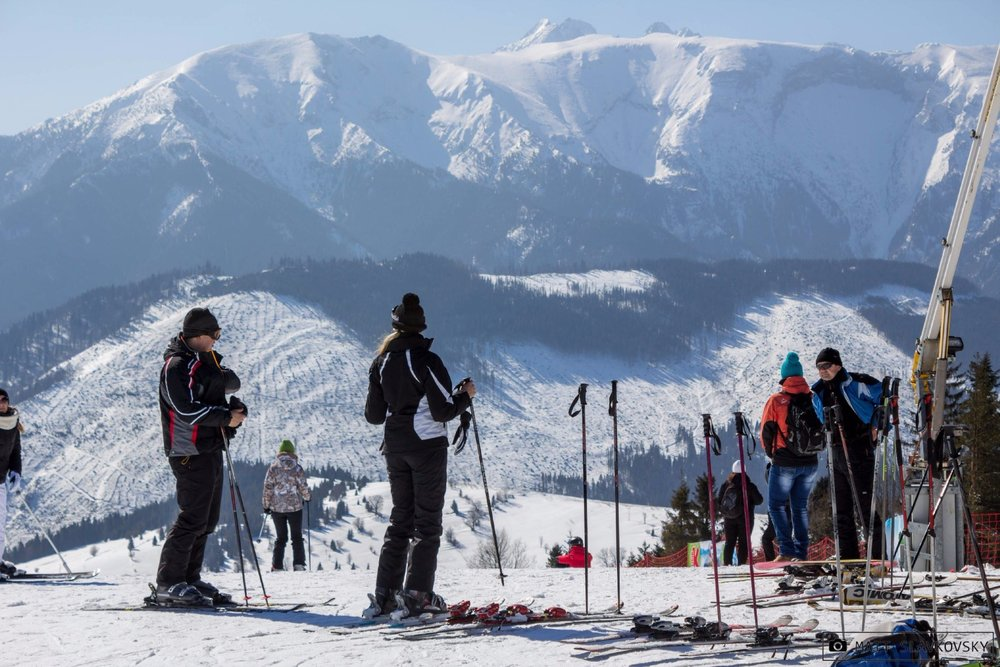 Slopes in Bachledova with an impressive view - ©Ski Bachledova