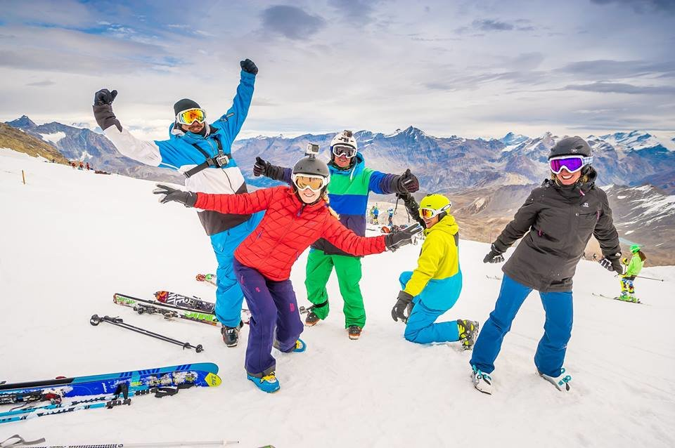 Tignes' ski opening day Oct. 1, 2016 - © Andy Parant Photographie