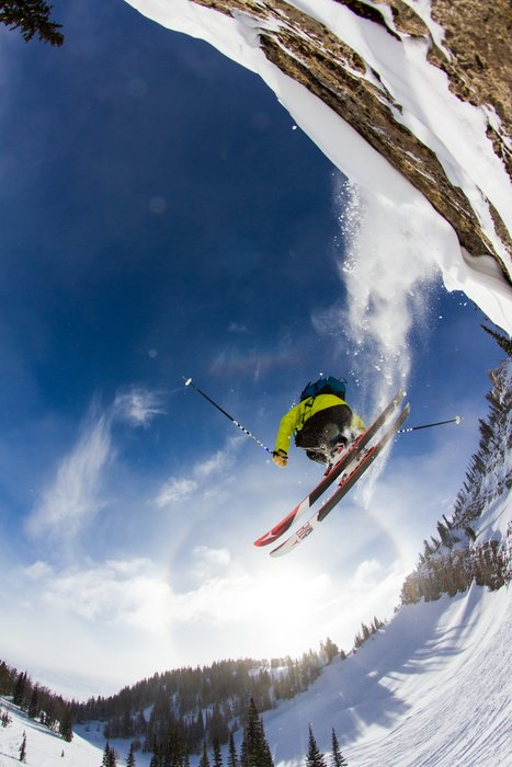 Hang time in Jackson Hole. - ©Jackson Hole Mountain Resort
