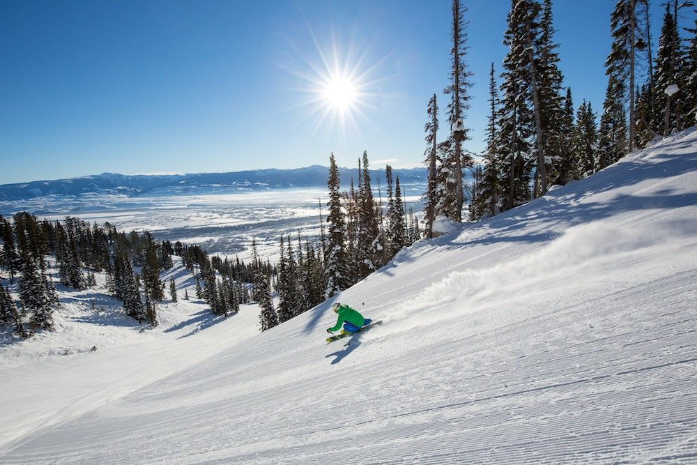 Hot laps at Jackson Hole. - © Jackson Hole Mountain Resort