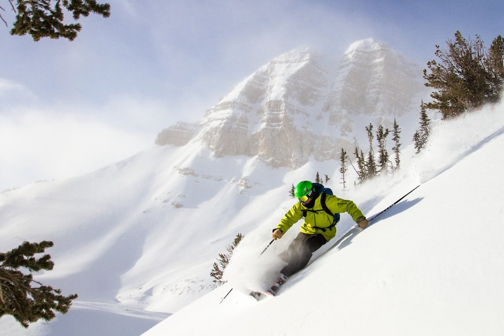 Nirvana isn't just a band, it's a state of mind in JH. - ©Jackson Hole Mountain Resort
