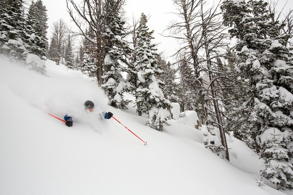 Digging deeper at Jackson Hole. - ©Jackson Hole Mountain Resort
