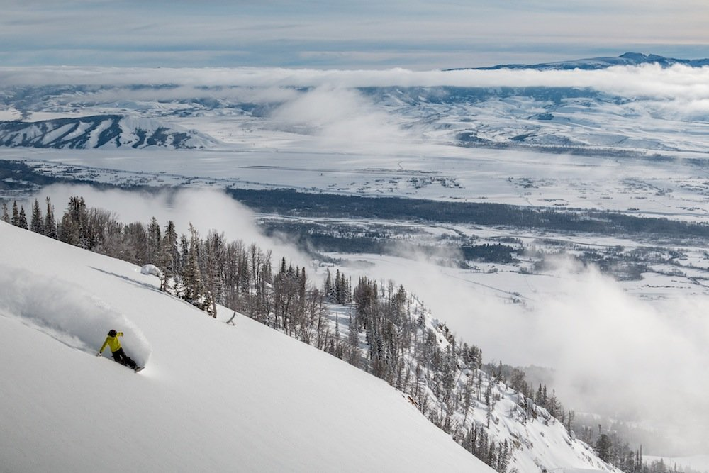 The endless views match the terrain at Jackson Hole. - © Jackson Hole Mountain Resort