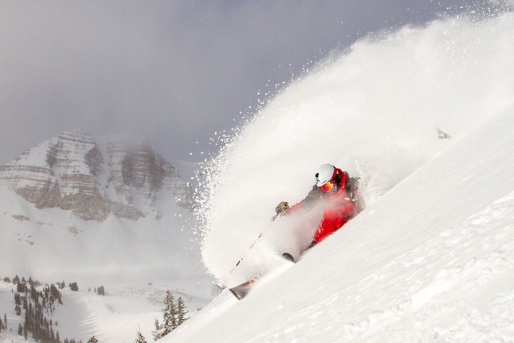 It's easy to make waves when you ski in Jackson. - ©Jackson Hole Mountain Resort