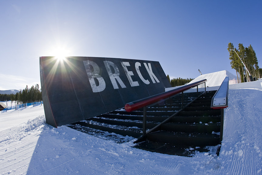 Choose your own adventure, Breck style. - ©Breckenridge Ski Resort