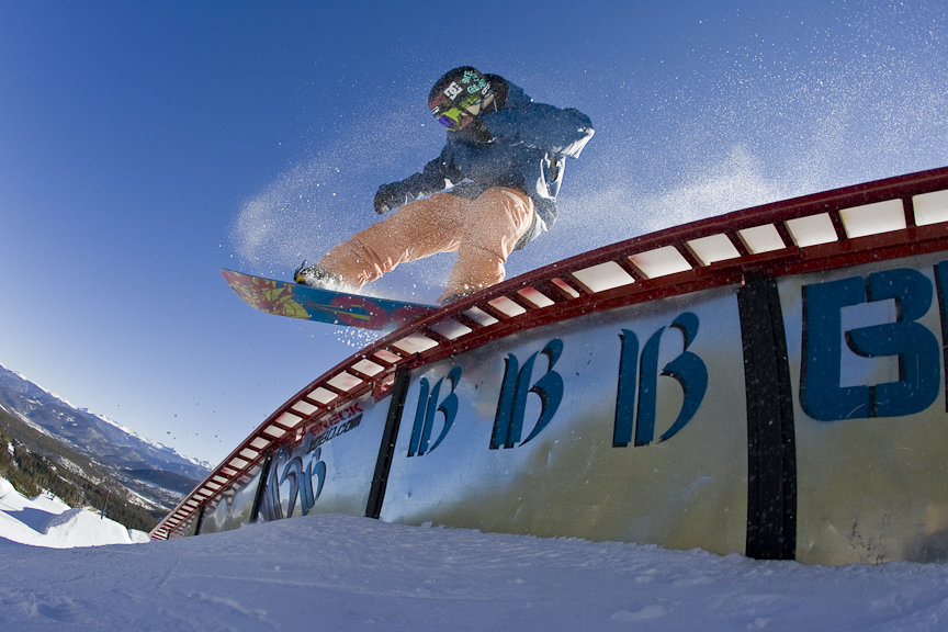Breck's got more rails than Amtrak. - © Breckenridge Ski Resort