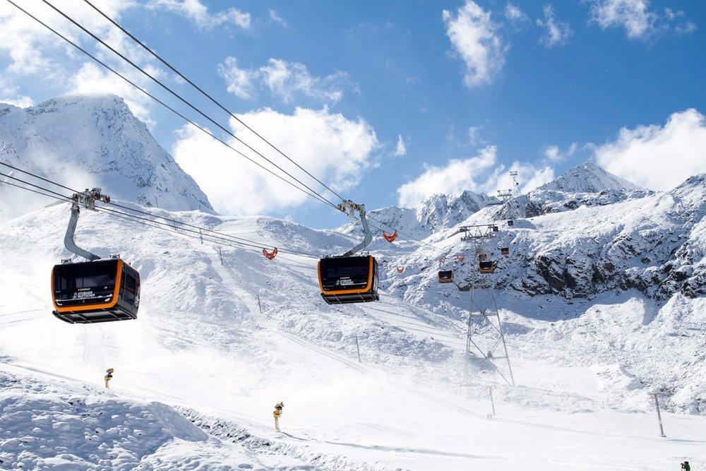 3S-Eisgratbahn am Stubaier Gletscher - © Stubaier Gletscher