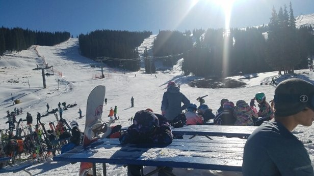 Copper Mountain Resort - beautiful day at Copper 