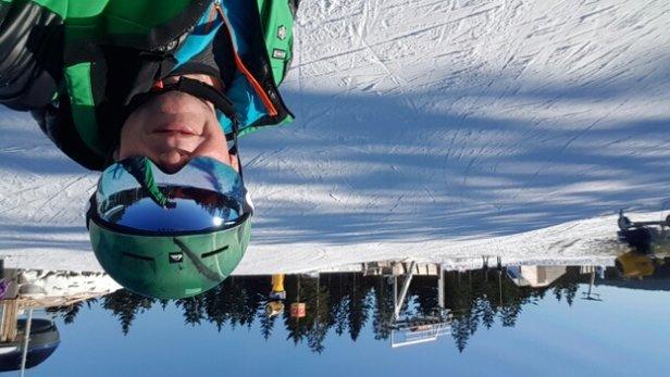 Winterberg Skiliftkarussell - super aus der Dose nein Kunstschnee  - © Michael Heinekamp