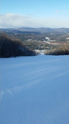 Ragged Mountain Resort - Great snow surface today made 12 runs awesome. - © anonymous