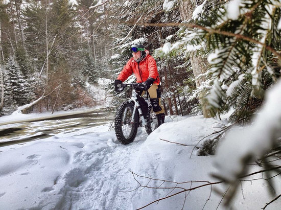 Ski Brule - Just got the word that Ski Brule is introducing Fat Biking this winter. I'm so excited to try it out!  - © Samantha 's iPhone
