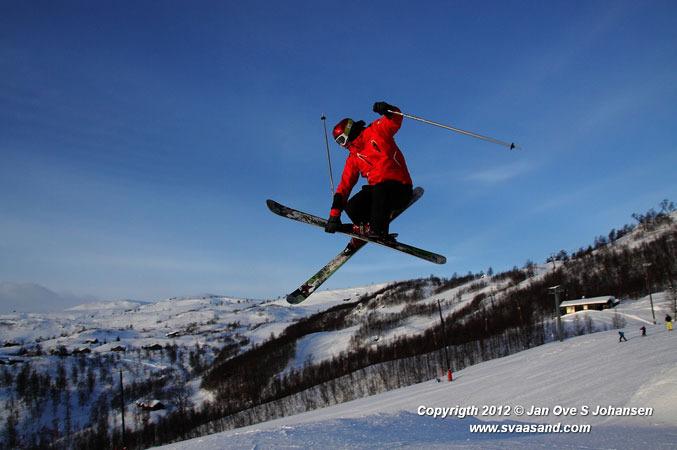 Haukelifjell - 13 jan 2012 hopp Jan Ove S Johansen 677px