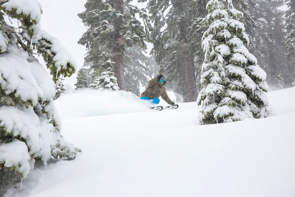 Nog meer december-poeder van Squaw Valley. - © Squaw Valley / Alpine Meadows