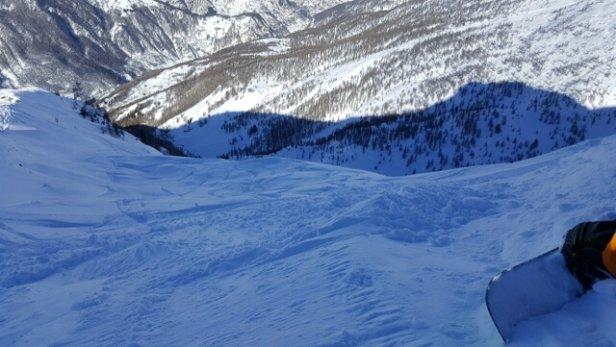 Prali - Neve ottima in quota. Crostosa e dura a fondovalle. - © natas.rider