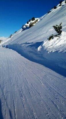 Val Cenis - tout est ouvert !  c est parfait  ,retour à  l hotel en ski  - © bronsky