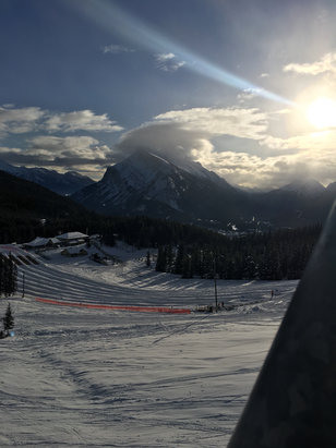 Mt. Norquay - Went on Friday 30th, it was a beautiful day, not to busy, fair morning conditions, the afternoon got a little icy.  - ©Helen's iPhone