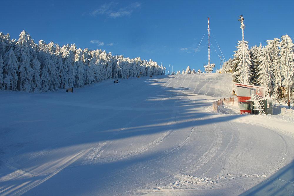 Das Skigebiet Jauerling in Österreich - © Josef Salomon - wachaufoto.at