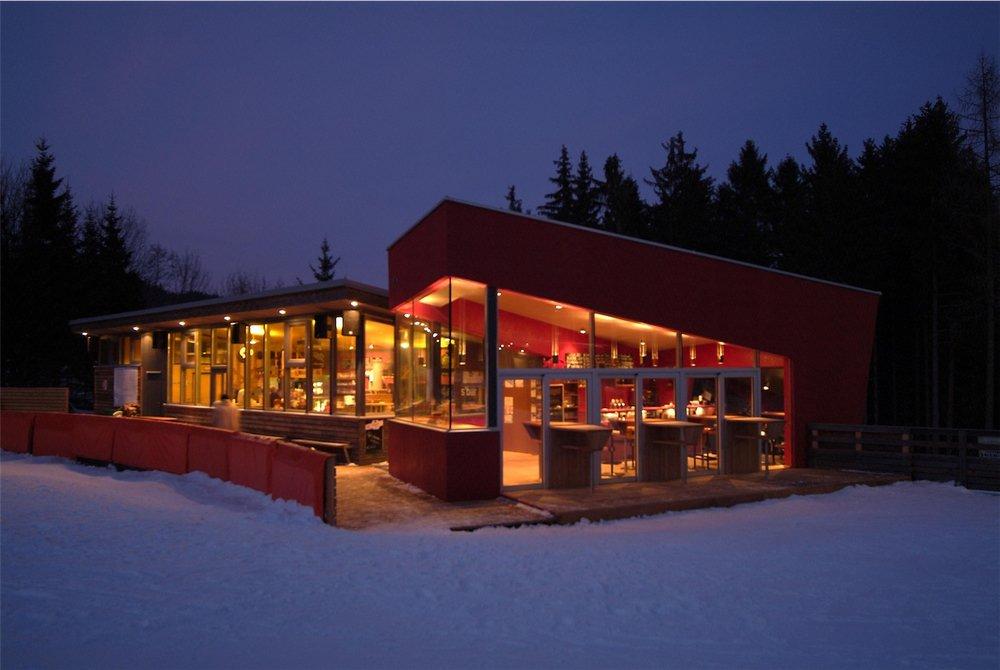 Das Skigebiet Jauerling bietet genügend Möglichkeiten zum Einkehren - © Josef Salomon - wachaufoto.at