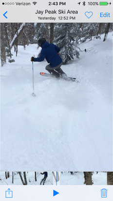 Jay Peak - New Years POW day.  - © treehugger