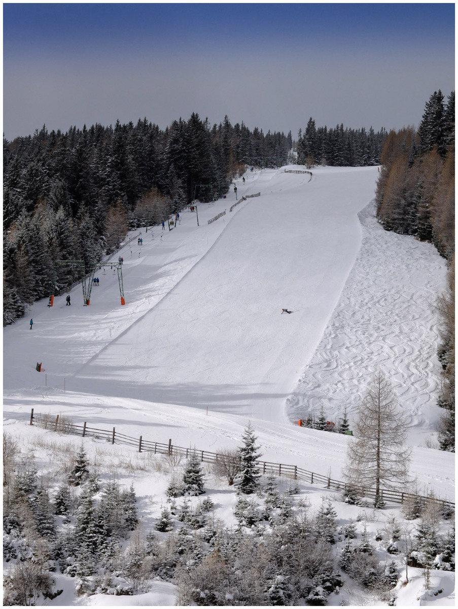 Der Steilhang im Skigebiet Salzstiegl - ©  Salzstiegl Tourismus GmbH