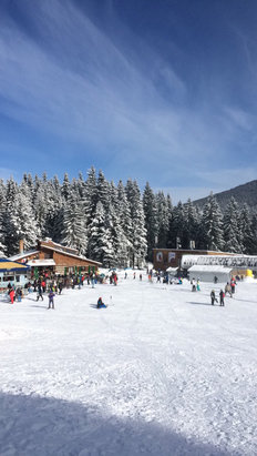 Bansko - Plenty of fresh snow but -14* - © Graham's iPhone