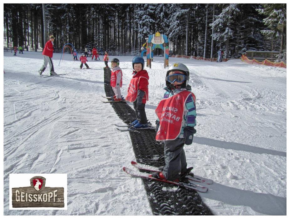 Der Geissleinpark im Skigebiet Geisskopf - © Skigebiet Geisskopf