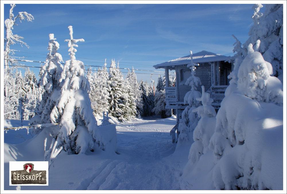 Die Riegel-Bergstation im Skigebiet Geisskopf - © Skigebiet Geisskopf