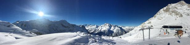 Pralognan la Vanoise - De magnifiques conditions  - © Nicolas