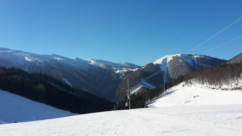 Vrátna Free Time Zone: Veľmi dobré snehové podmienky 18.1.2017