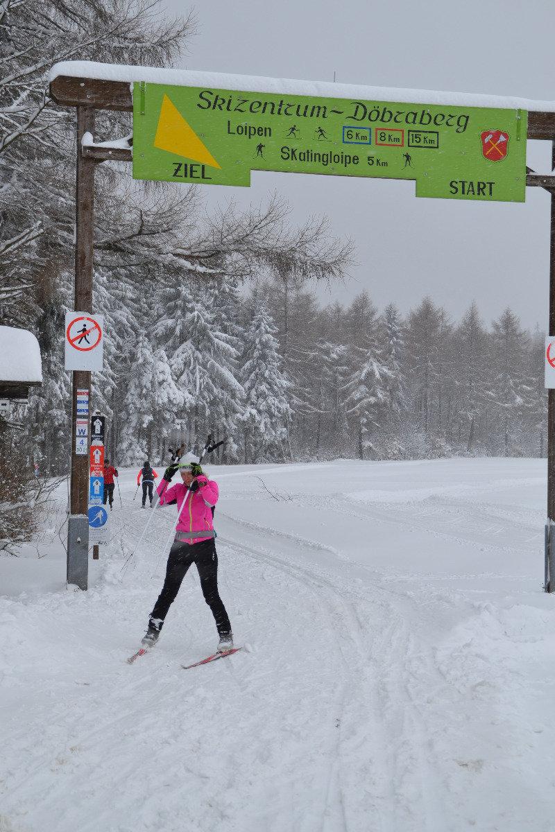 Langlaufloipen am Skizentrum Döbraberg - © Stadt Schwarzenbach a.Wald