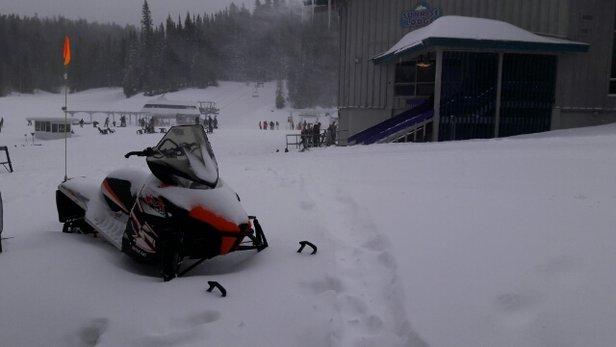 Sunrise Park Resort - Fluffy Powder all over the Mountain will snow flurries all morning! - ©mrmattweiss