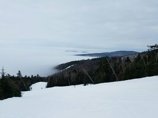 Okemo Mountain Resort - went Friday Saturday Sunday. All three days were great. Lots of fog. no big deal  - © anonymous
