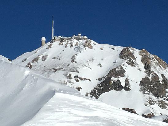 Grand Tourmalet (La Mongie / Barèges) - Encore une belle journée de ski - © iPhone de Patrick