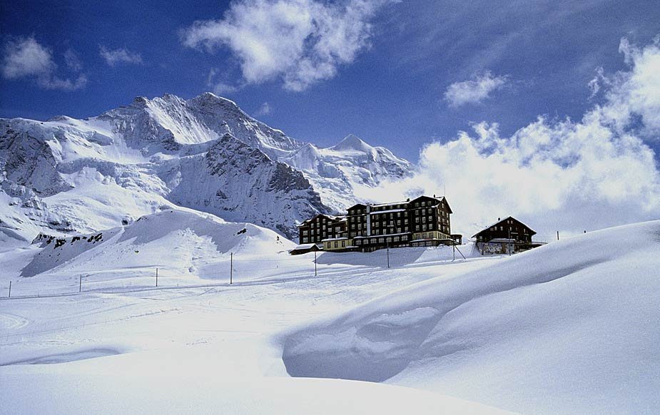 Hotel Bellevue, Eiger North Face - ©Hotel Bellevue des Alpes