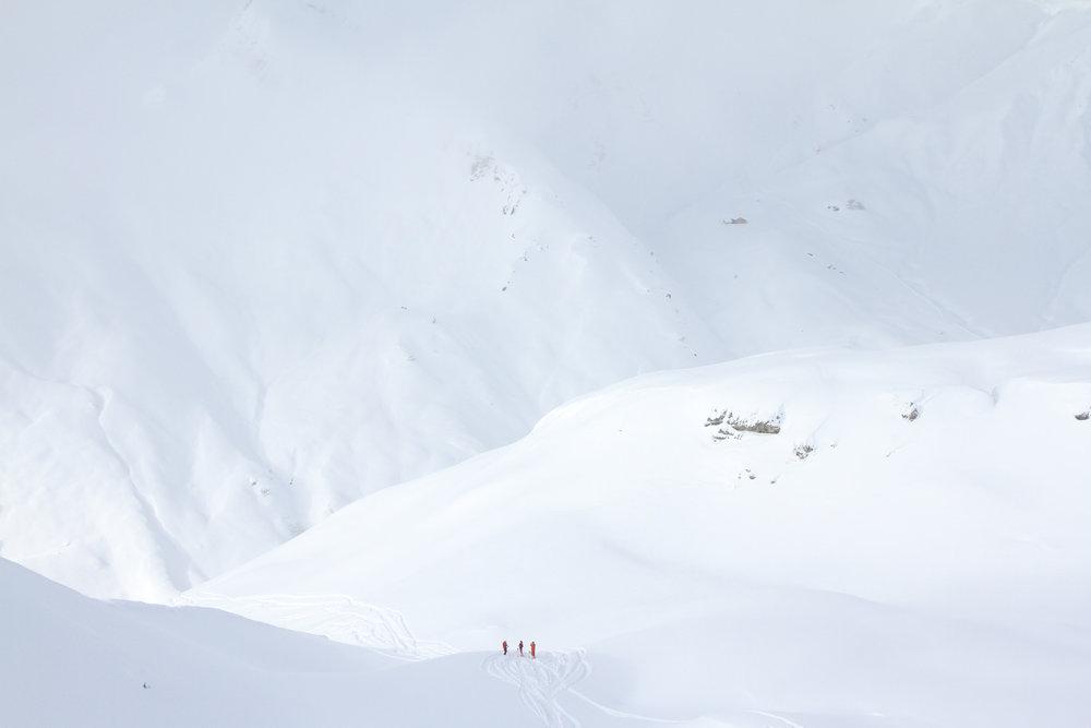 Traumhafte Freeridetour am Arlberg - © Skiinfo