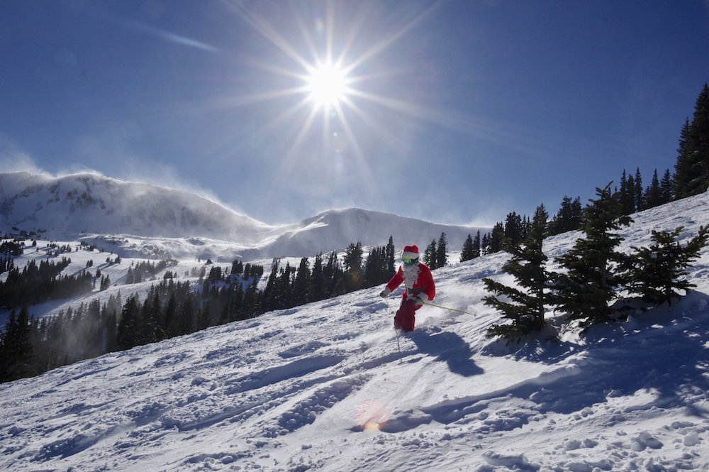 Loveland Ski Area had an early Christmas this year! - © Dustin Schaefer