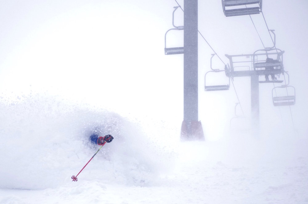 Loveland claims 28 inches in 48 hours. - © Dustin Shafer