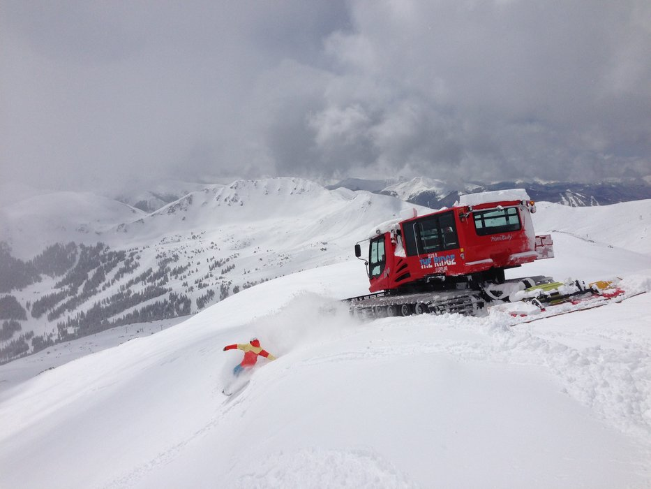 Hope he tipped. - © Loveland Ski Area