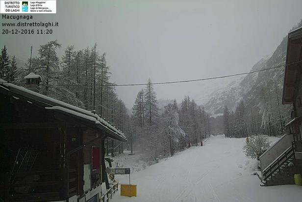 Macugnaga 20.12.16 - © Macugnaga webcam