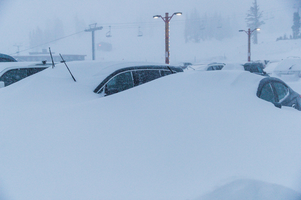 Mammoth's storm total of 28-50 inches is just the beginning.  - © Peter Morning/MMSA