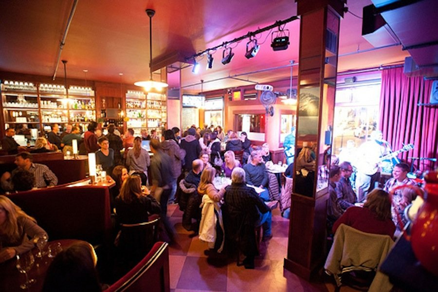 Live jazz has always been a staple of the Moody's experience, but now the live music offerings have expanded to bluegrass, Americana and more. - © Moody's Bistro
