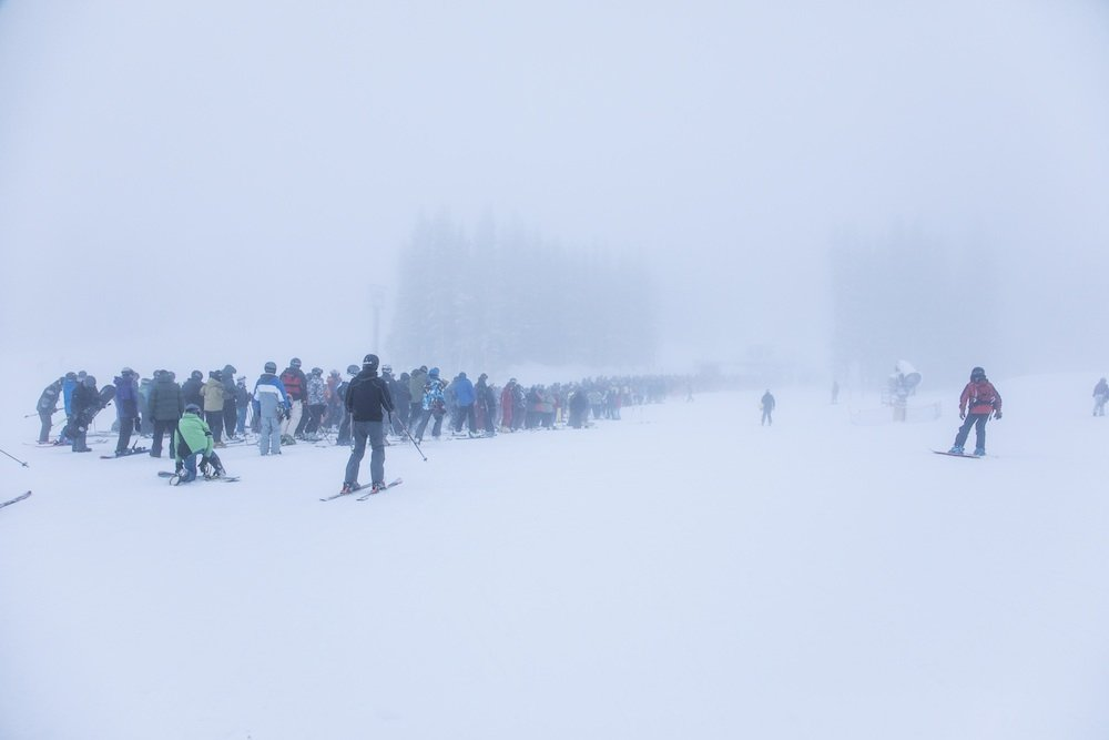 Is this the singles line? - ©Mt. Rose