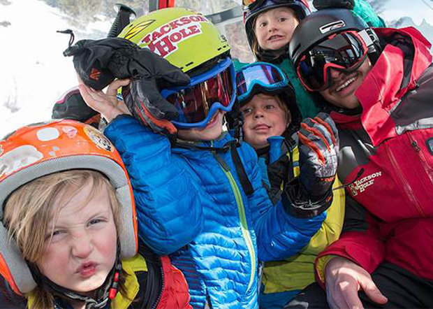 Never a dull moment on the mountain. - © Jackson Hole Mountain Resort