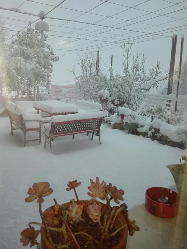 Neve fresca in Sardegna! Città: Orune - © Sardegna Live Facebook