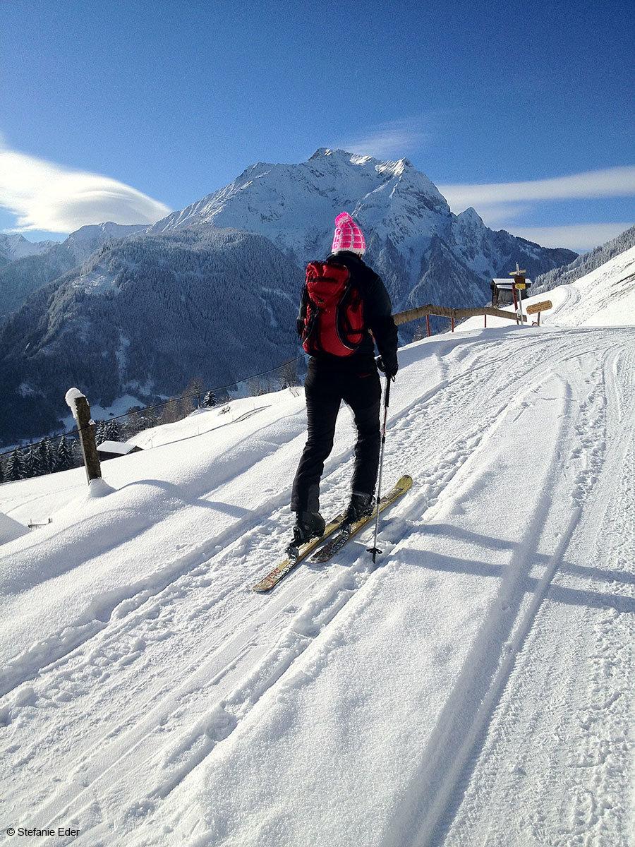 Na skiturowej trasie w rejonie Mayrhofen-Hippach - © Stefanie Eder